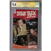 Star Trek: Waypoint #5 CGC 9.8 William Shatner Nichelle Nichols Signature Series (W)