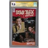 Star Trek: Waypoint #5 CGC 9.6 William Shatner Nichelle Nichols Signature Series (W)