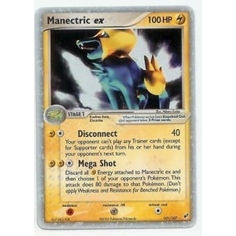 Pokemon Deoxys Single Manectric ex 101/107- MODERATE PLAY (MP)