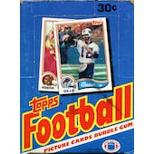 1982 Topps Football Wax Box (Reed Buy)