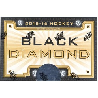 2015/16 Upper Deck Black Diamond Hockey Hobby Box