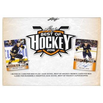 2015/16 Leaf Best Of Hockey Hobby Box