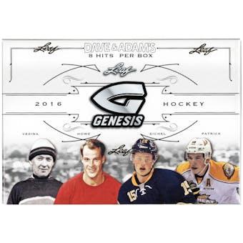 2016/17 Leaf Genesis Hockey Hobby Box