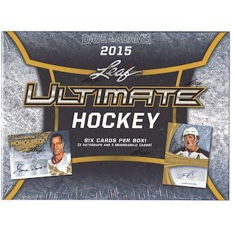 2015/16 Leaf Ultimate Hockey Hobby Box