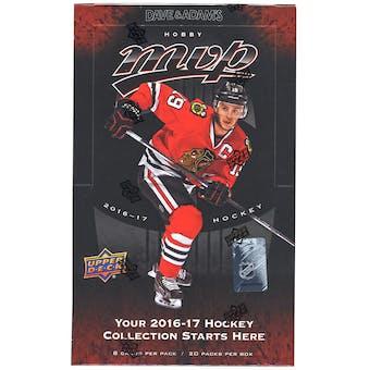 2016/17 Upper Deck MVP Hockey Hobby Box