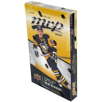 2015/16 Upper Deck MVP Hockey Hobby Box