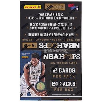2015/16 Panini Hoops Basketball Hobby Box