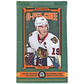 2015/16 Upper Deck O-Pee-Chee Hockey Hobby Box