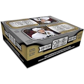 2015/16 Upper Deck O-Pee-Chee Platinum Hockey 24-Pack Box