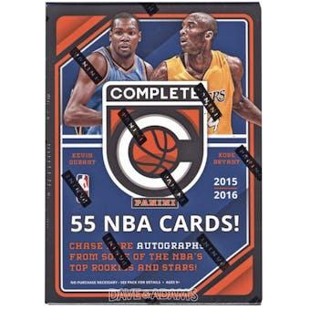 2015/16 Panini Complete Basketball 11-Pack Box