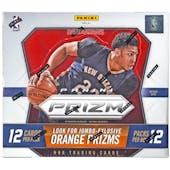 2015/16 Panini Prizm Basketball Jumbo Box
