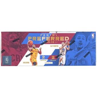 2015/16 Panini Preferred Basketball Hobby Box