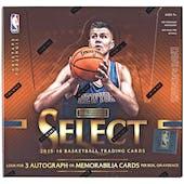 2015/16 Panini Select Basketball Hobby Box