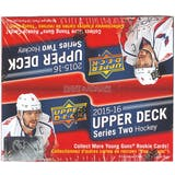 2015/16 Upper Deck Series 2 Hockey 24-Pack Box