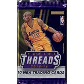 2015/16 Panini Threads Basketball Premium Pack