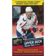 2015/16 Upper Deck Series 2 Hockey 10-Pack Blaster Box