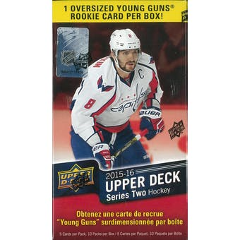 2015/16 Upper Deck Series 2 Hockey 10-Pack Blaster Box (Lot of 3)