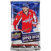2015/16 Upper Deck Series 2 Hockey Hobby Pack
