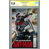 Astonishing Ant-Man #11 CGC 9.8 (W) Signed By Paul Rudd *1518784004*