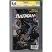 Batman #608 CGC 9.4 (W) Signature Series *1518796001*