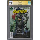 Batman #609 CGC 9.8 (W) Signature Series *1518796002*