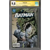 Batman #610 CGC 9.8 (W) Signature Series *1518796003*