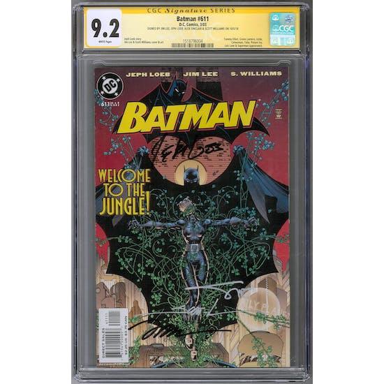 Batman #611 CGC 9.2 (W) Signature Series *1518796004*