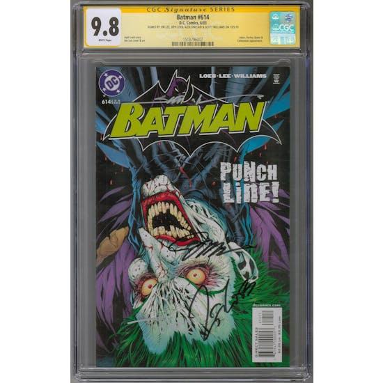 Batman #614 CGC 9.8 (W) Signature Series *1518796007* DKnight2020Series1
