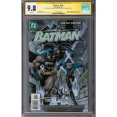 Batman #615 CGC 9.8 (W) Signature Series *1518796008*