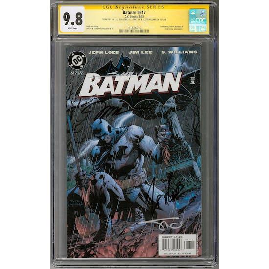 Batman #617 CGC 9.8 (W) Signature Series *1518796010*