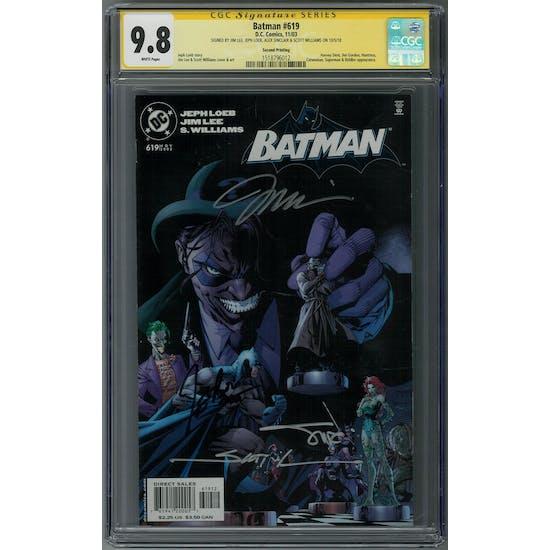 Batman #619 CGC 9.8 (W) Signature Series *1518796012*