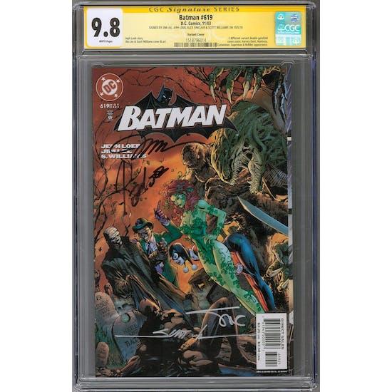 Batman #619 CGC 9.8 (W) Variant Signature Series *1518796014*