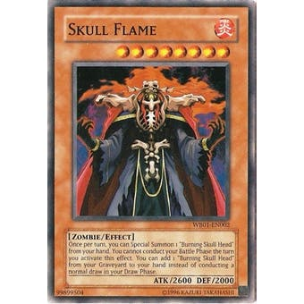 Yu-Gi-Oh Promo Single Skull Flame Ultra Rare WB01