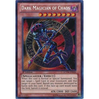Yu-Gi-Oh Legendary Collection 3 Single Dark Magician of Chaos Secret Rare