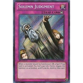 Yu-Gi-Oh Legendary Collection 3 1st Edition Single Solemn Judgment Secret Rare
