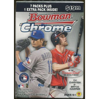 2012 Bowman Chrome Baseball 8-Pack Box