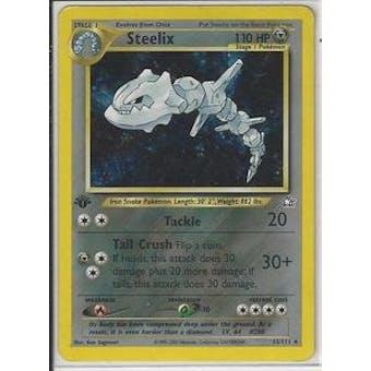 Pokemon Neo Genesis 1st Edition Single Steelix 15/111 - NEAR MINT (NM)