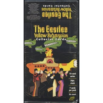 The Beatles Yellow Submarine Box (1999 Comic Images)