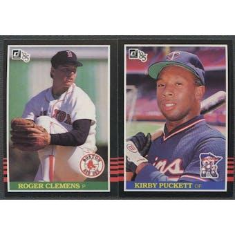 1985 Donruss Baseball Complete Set (NM-MT)