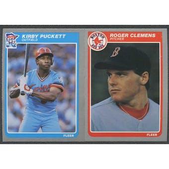 1985 Fleer Baseball Complete Set (NM-MT)