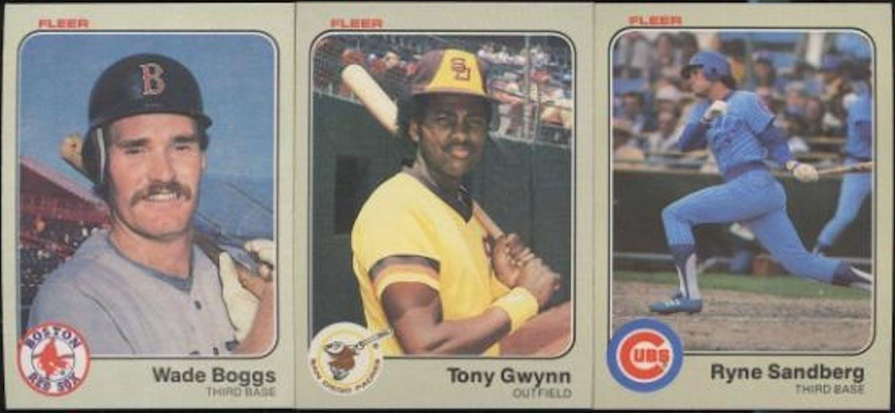 1983 Fleer Baseball Complete Set Nm Mt Da Card World