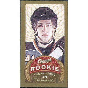 2009/10 Upper Deck Champ's Mini Green Backs #192 Logan Couture RC