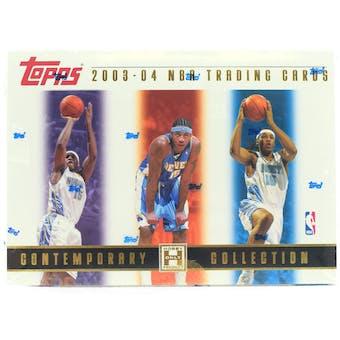 2003/04 Topps Contemporary Collection Basketball Hobby Box