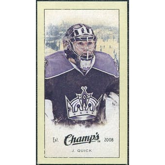 2009/10 Upper Deck Champ's Mini Green Backs #363 Jonathan Quick