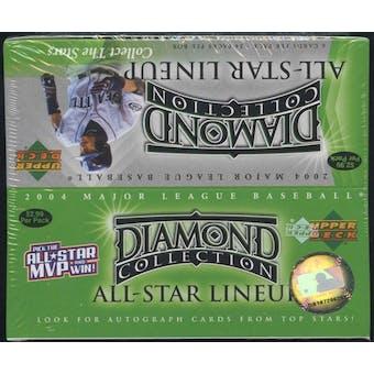 2004 Upper Deck Diamond Collection All-Star Lineup Baseball 24 Pack Box
