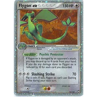 Pokemon Power Keepers Single Flygon ex 94/108 - SLIGHT PLAY (SP)
