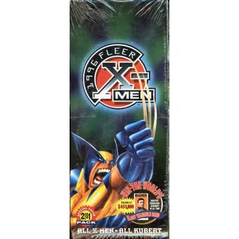 X-Men Retail Box (1996 Fleer)