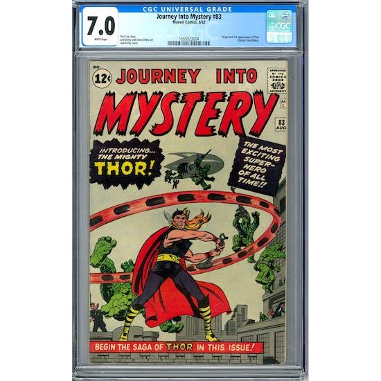 Journey Into Mystery #83 CGC 7.0 (W) *1555023004*