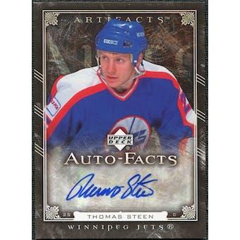 2006/07 Upper Deck Artifacts Autofacts #AFTS Tomas Steen Autograph