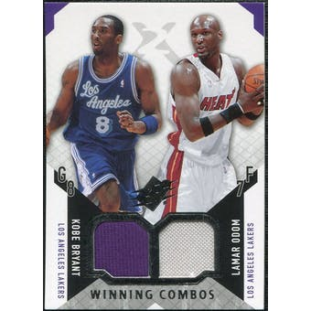 2004/05 Upper Deck SPx Winning Materials Combos #BO Kobe Bryant/Lamar Odom